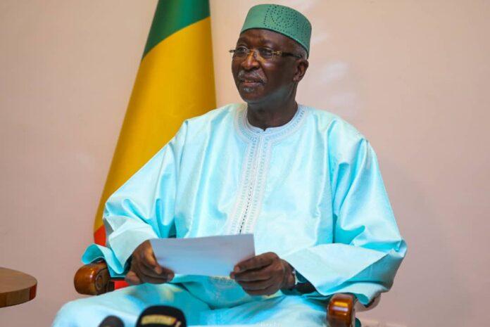 Président de la Transition malienne, Bah N'Daw/Photo-présidence Mali